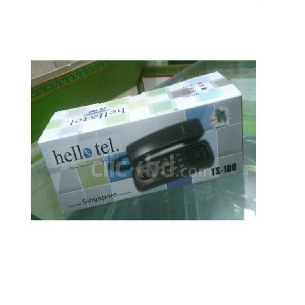 HelloTel-TS-100-Apartment-Intercom-Black-Red-White- Wall-Mount-Intercom Phone-Set (1)